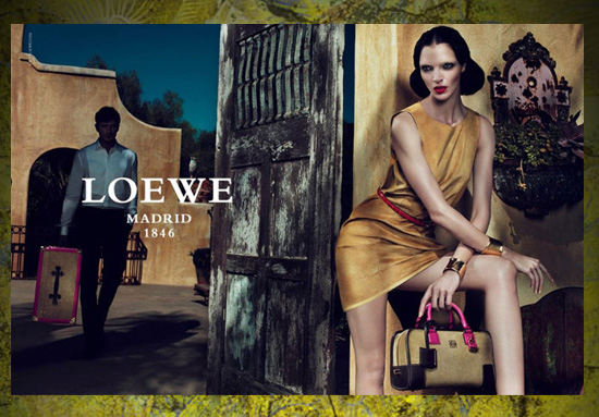 Loewe primavera verano 2011 moda joven