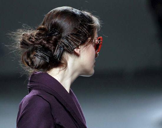 peinados en el desfile de victorio & lucchino