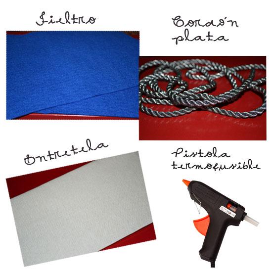 materiales para hacer un tocado