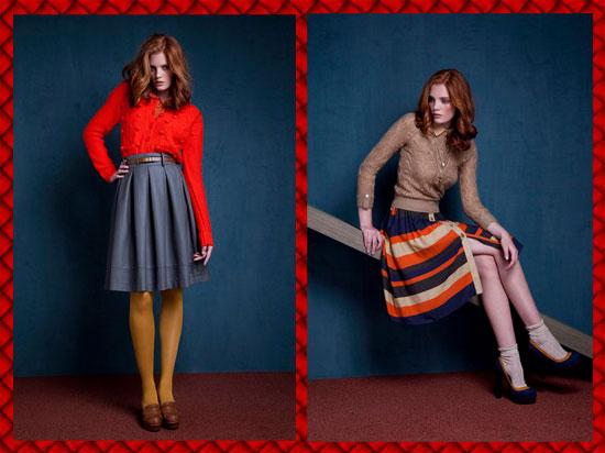 faldas midi para invierno