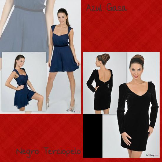 vestidos cortos Daluna