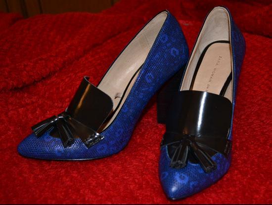 zapatos de salón zara