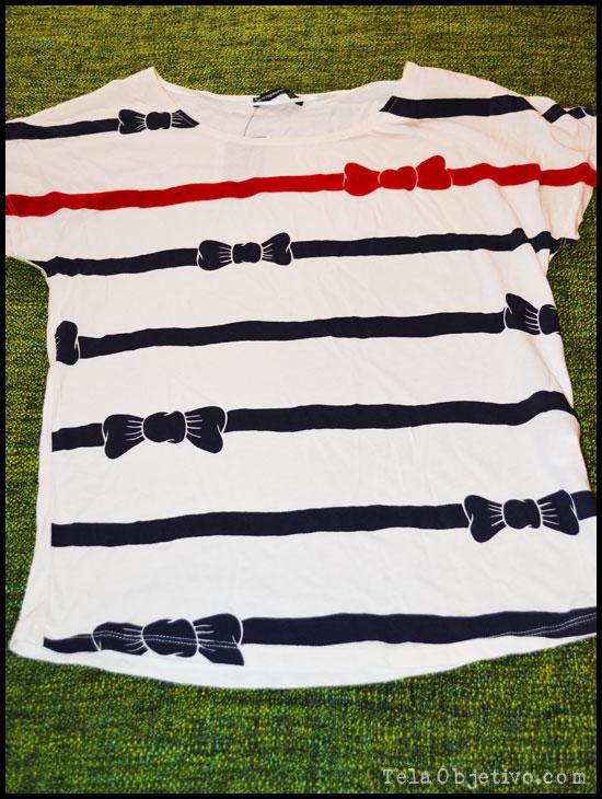 camiseta lazos