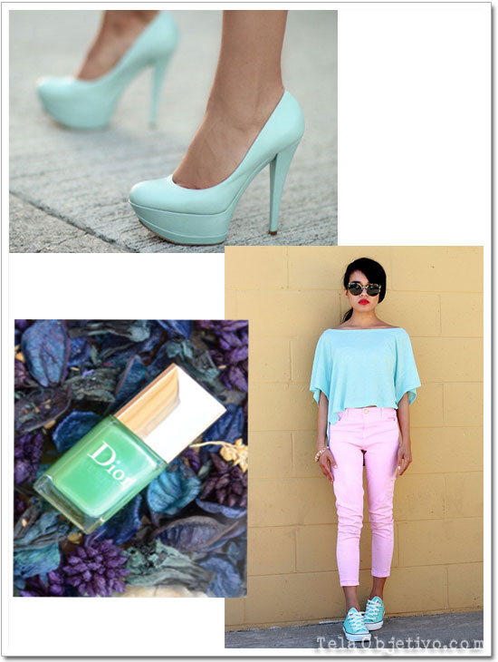 tendencia color menta