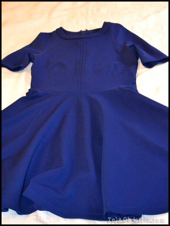 vestido azulón asos