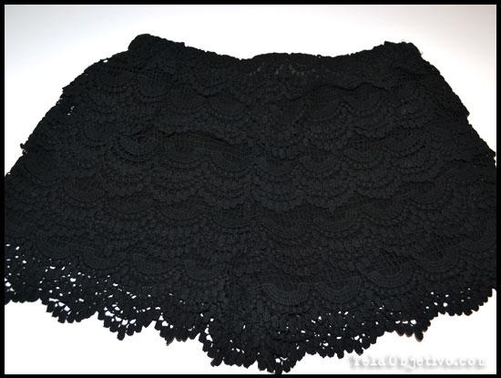 pantalones croche negro