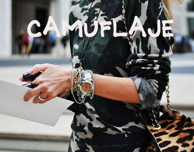 tendencia camuflaje