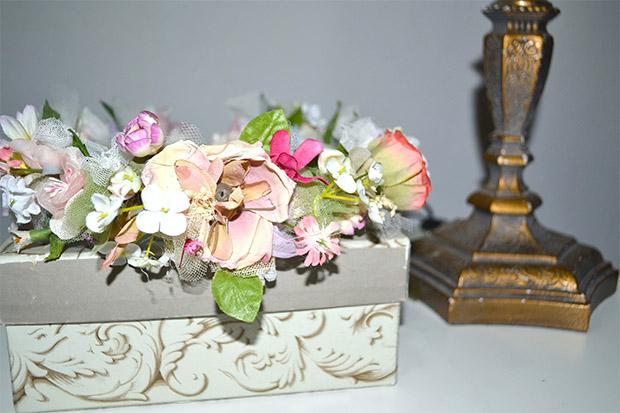 corona de flores comunion