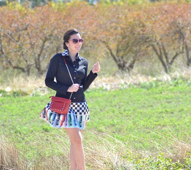 PIlar Vidal vestido