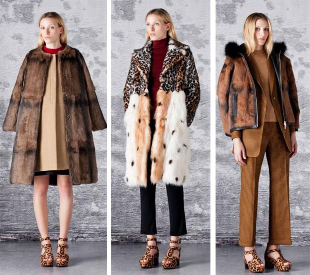 abrigo de pelo bimba y lola
