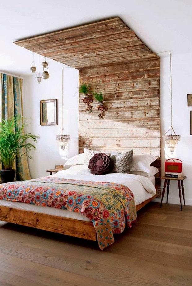 cabezales de madera natural