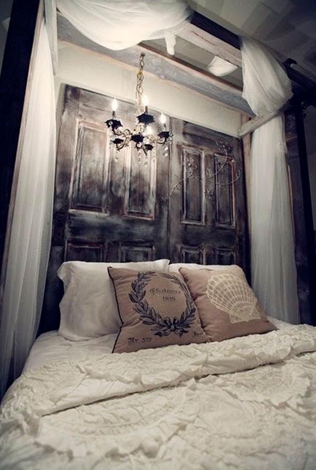 cabezales de cama con puertas