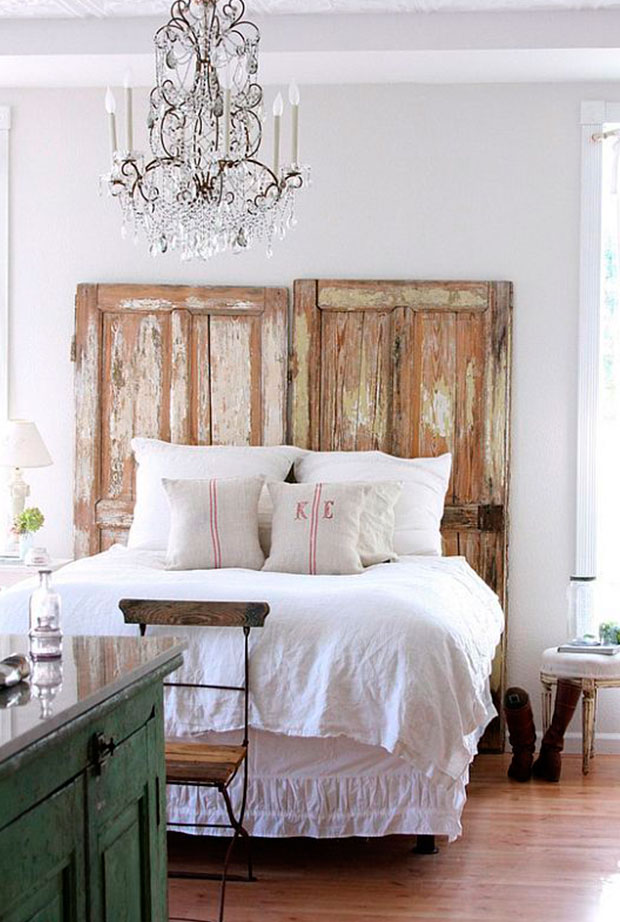 cabezales de cama vintage