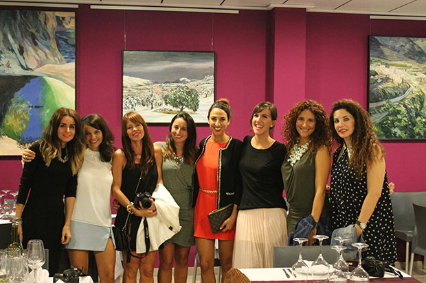 bloggers en restaurante sabors