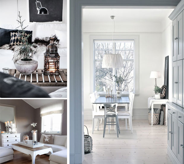 salones estilo nordico