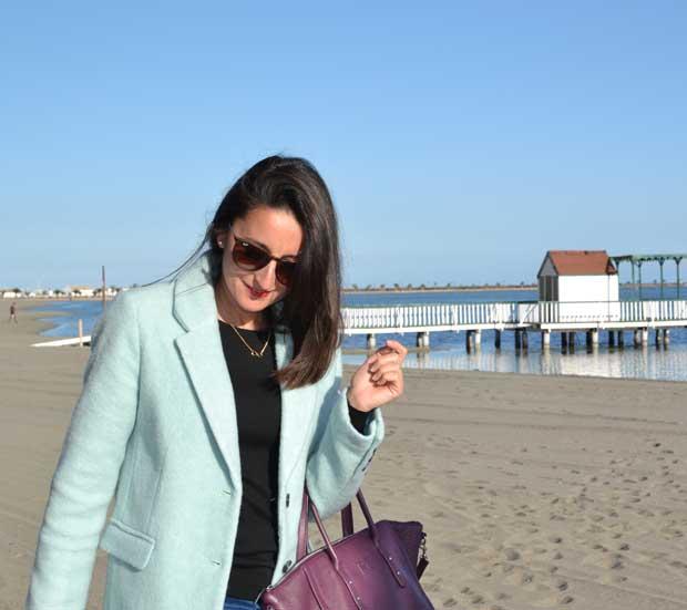 abrigo color pastel