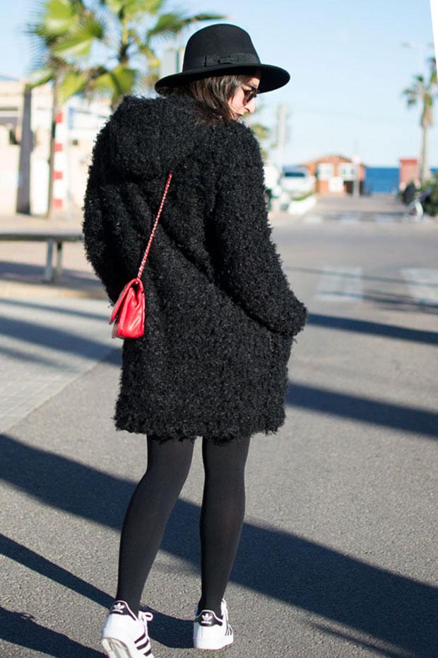 abrigo pepe reversible