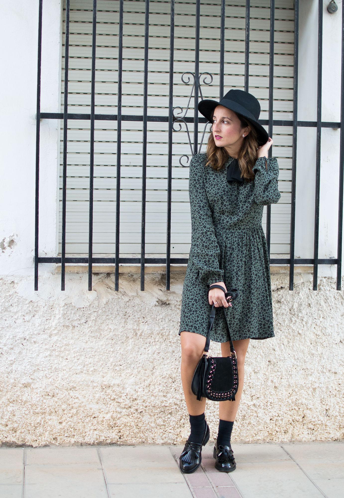 vestido lady verde