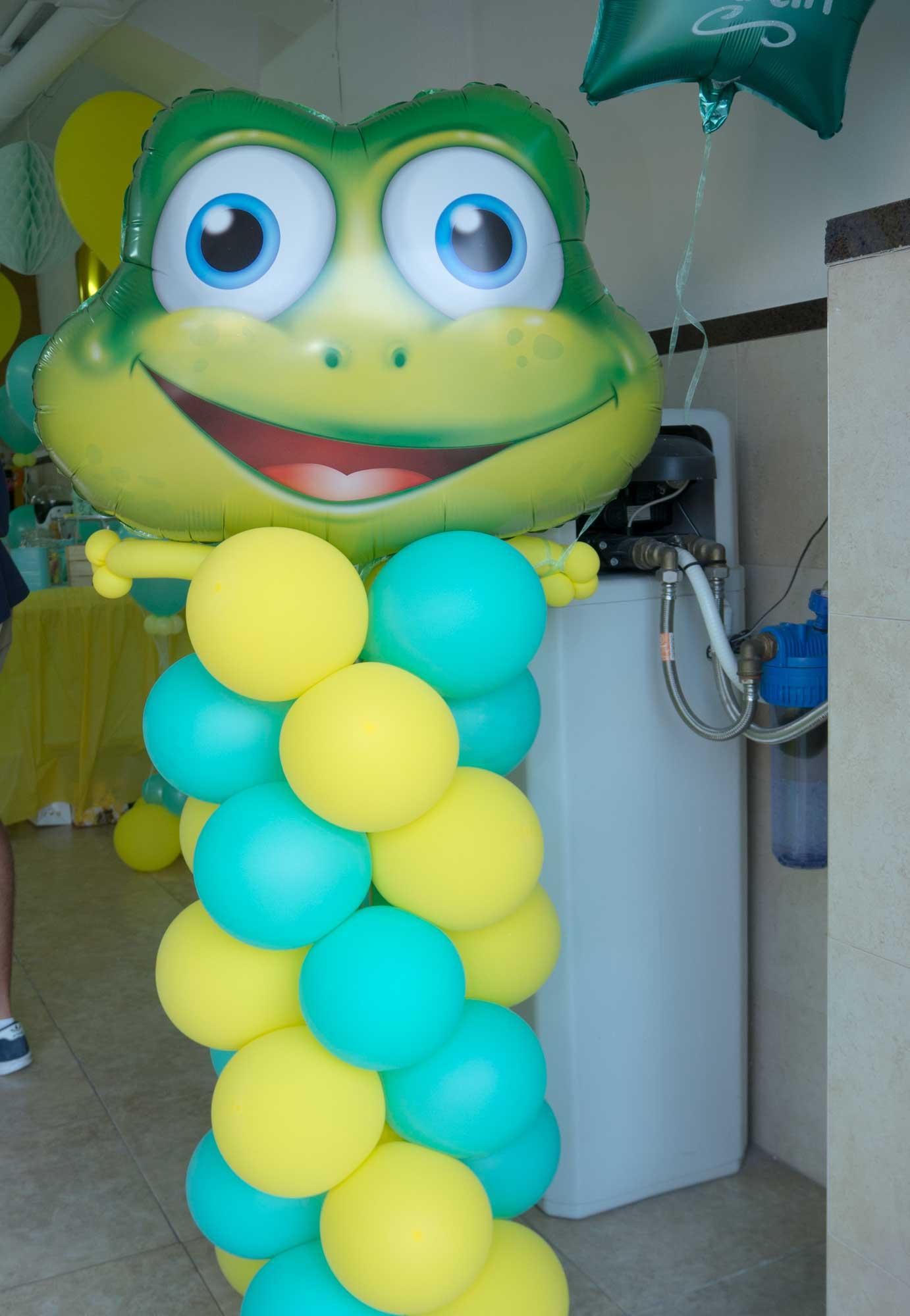 rana de globos