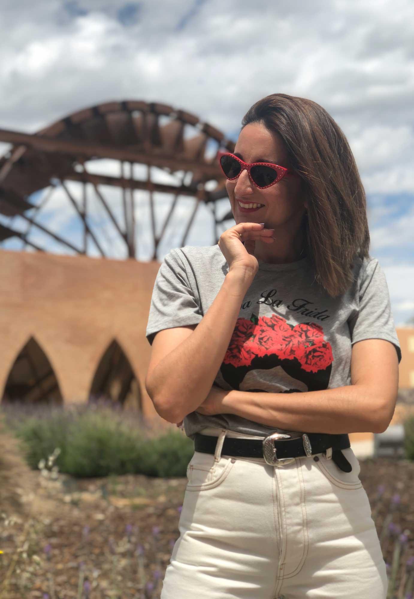 gafas de sol rojas Moschino