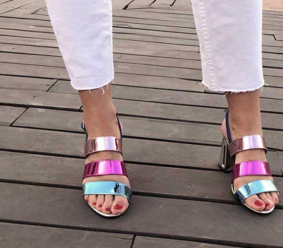 sandalias neón maria mare